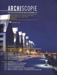 Gwénaël Querrien - Archiscopie N° 98, Novembre 2010 : .