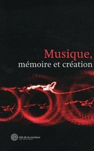 Cité de la musique - Musique, mémoire et création.