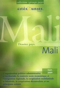 Cités Unies France - Dossier pays Mali.