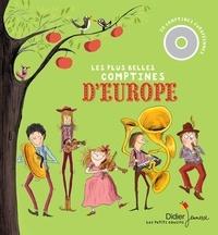 Claire Abbis-Chacé et Liliana Brunello - Les plus belles comptines d'Europe. 1 CD audio