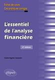 Claire-Agnès Gueutin - L'essentiel de l'analyse financière - Fiches de cours et cas pratiques corrigés.