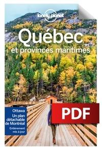 Téléchargement gratuit d'ebook par numéro isbn Québec et provinces maritimes in French 9782816181951