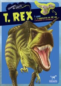 Claire Bampton - T.Rex - 1 livre + 1 squelette de 40 cm à assembler.