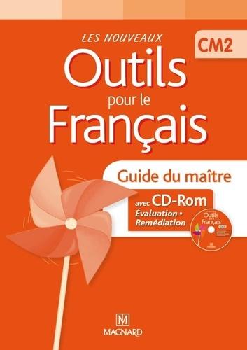 Claire Barthomeuf - Les nouveaux outils pour le français CM2 - Guide du maître. 1 Cédérom