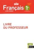 Claire Beilin-Bourgeois et Florence Renner - Français 1re Horizons pluriels - Livre du professeur.
