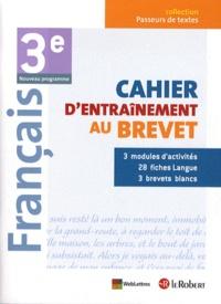 Français 3e - Cahier dentraînement au Brevet.pdf