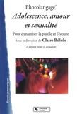 Claire Bélisle - Photolangage Adolescence, amour et sexualité - Dynamiser la parole et l'écoute.