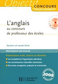 Claire Béniméli - L'anglais au concours de professeur des écoles. 1 CD audio