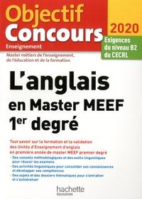 Claire Béniméli - L'anglais en Master MEEF 1er degré - Exigences du niveau B2 du CECRL.