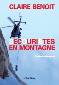 Claire Benoit - Secouristes en montagne dans les Hautes-Pyrénées.