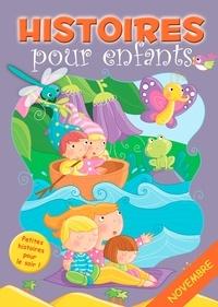 Claire Bertholet et  Sally-Ann Hopwood - 30 histoires à lire avant de dormir en novembre - Petites histoires pour le soir.