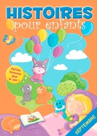 Claire Bertholet et  Sally-Ann Hopwood - 30 histoires à lire avant de dormir en septembre - Petites histoires pour le soir.