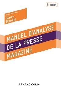 Claire Blandin - Manuel d'analyse de la presse magazine.