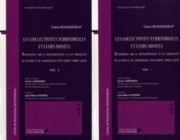 Claire Bosseboeuf - Les collectivités territoriales et leurs musées - Recherches sur le développement et les modalités de gestion et de gouvernance d'un service public local, 2 volumes.