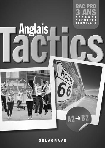 Anglais Tactics Bac Pro 3 Ans A2 A B2 Livre Du Professeur Poche