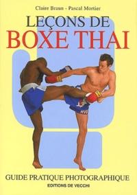 Claire Braun et Pascal Mortier - Leçons de boxe thaï.