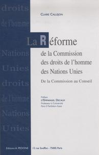La réforme de la commission des droits de lHomme des Nations Unies de la Commission au conseil des droits de lHomme.pdf