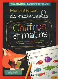 Claire Chabot - Chiffres et maths - 120 activités + 1 ardoise effaçable.