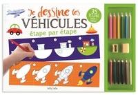 Claire Chabot et Rachel Pilon - Je dessine les véhicules étape par étape.