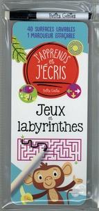 Claire Chabot et Danielle Robichaud - Jeux et labyrinthes - Avec 40 surfaces lavables et 1 marqueur effaçable.