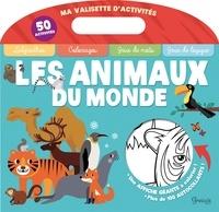 Claire Chabot et  Desinz - Les animaux du monde - Avec un poster géant, 100 autocollants.