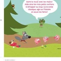 CLAIRE CLÉMENT - Les trois petits cochons, le loup et toi!.