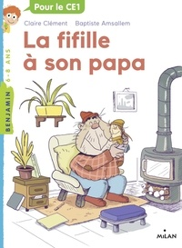 Claire Clément - La fifille à son papa.