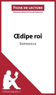 Claire Cornillon - Oedipe roi de Sophocle - Fiche de lecture.