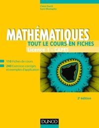 Claire David et Sami Mustapha - Mathématiques Licence 1 CAPES - Tout le cours en fiches.