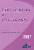 Claire Demesmay et Hans Stark - Radioscopies de l'Allemagne.