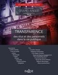 Claire Demunck et Erwan Royer - Transparence des élus et des personnels dans la vie publique.