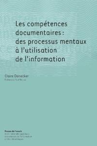 Deedr.fr Les compétences documentaires : des processus mentaux à l'utilisation de l'information Image