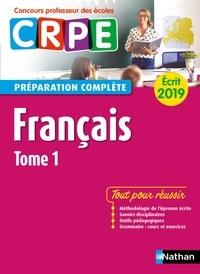 Claire Doquet et Anne-Rozenn Morel - CONCOURS PROF  : Français - Tome 1 - Ecrit 2019 - Préparation complète - CRPE - Format : ePub 3.