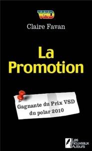 Claire Favan - La promotion.
