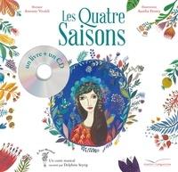 Claire Frédéric et Aurélia Fronty - Les quatre saisons. 1 CD audio