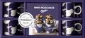 Claire Guignot et  Orathay - Coffret Mini mugcakes Milka - Le livre de 30 recettes originales avec 4 mini mugs collector.
