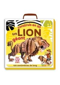 Claire Hawcock - Construis en 3D un lion géant - Avec un livrer de 48 pages.