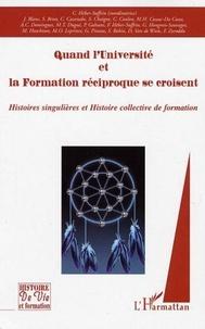 Claire Héber-Suffrin - Quand l'Université et la formation réciproque se croisent. - ...