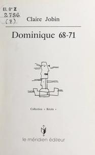 Claire Jobin - Dominique 68-71.