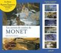 Claire Joyes - Les carnets de cuisine de Monet - Le livre et 6 porte-couteaux en porcelaine véritable.