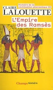 Histoire de la civilisation pharaonique - Tome 3, Lempire des Ramsès.pdf