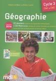 Claire Le Meur et Didier Lorès - Géographie Cycle 3 CM1-CM2 - 22 dossiers répartis en 6 grandes thématiques. 1 Cédérom