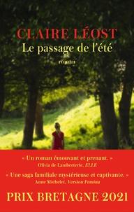 Claire Léost - Le Passage de l'été - Prix Bretagne - Prix Breizh 2021.