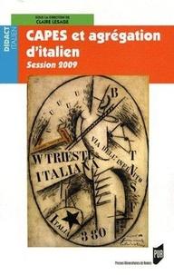 CAPES et agrégation d'italien- Session 2009 - Claire Lesage | Showmesound.org