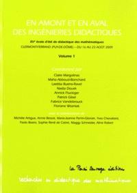 Deedr.fr En amont et en aval des ingénieries didactiques - 15e Ecole d'Eté de didactique des mathématiques, Clermont-Ferrand (Puy-de-Dôme) - du 16 au 23 aôut 2009. Volume 1 Image