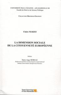 Claire Marzo - La dimension sociale de la citoyenneté européenne.