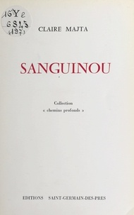 Claire Matja - Sanguinou.
