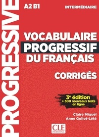 Vocabulaire progressif du français intermédiaire A2>B1 - Corrigés.pdf