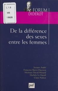 Claire Nahon et Françoise Barret-Ducrocq - .