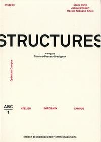 Claire Parin et Jacques Robert - Structures - Campus Talence-Pessac-Gradignan.